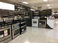A room full of sears appliances